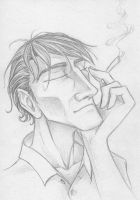 Morning Cigarette by SherlockianHound