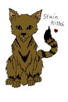 Stain Kitteh by Bloodstainedhowl