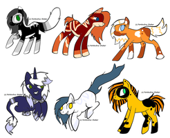 Cat pony adopts by Honey-PawStep
