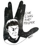 Live long and prosper.  by ickhwano
