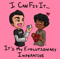 Evolutionary Valentine by iluvbsbkevin