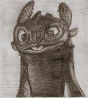Toothless just being Toothless by Miss-Lizzie-Jane