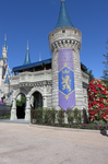 Castle Turret Christmas IMG 2721 by WDWParksGal-Stock