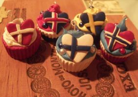 Crafts: Country Cupcakes by Sou-Viet