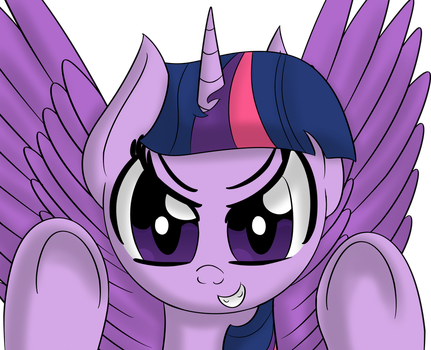 Twilight, the sinister one by DataPony