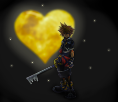 Wielder of the Keyblade by Flowx-Wolf