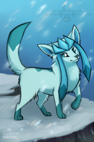 Glaceon by DOLFIY
