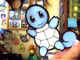 Tiny Turtle Squirtle by TinySkye