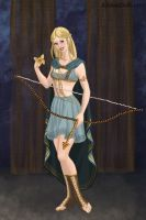Artemis, Goddess of the Hunt by LadyAquanine73551