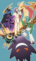 Symphoria/Pokemon?!? - 5th Gym Leader by Zue