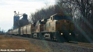 Ex-CNW 8808 UP 6710 leads UP GSEFRK 20 by EternalFlame1891