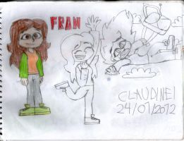 Total Drama: Fran by claudinei230