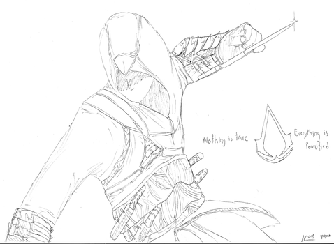 Altair Mid-Assassination by AC001