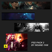Psd Pack 2 by Insane-yan by insane-yan