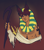 APH: Anubis by archaicacid