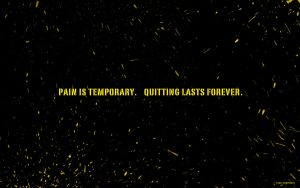 Pain is temporary by allonlim