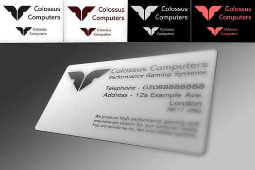 Colossus Logo by Digital--Ice