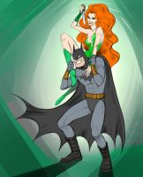 Ivy loves Batsy_color by artlekina