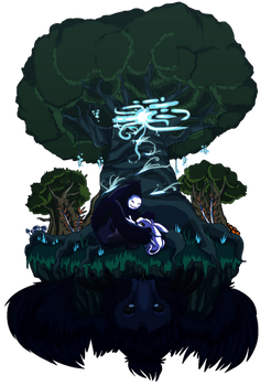 Ori and the Blind Forest by deltari2