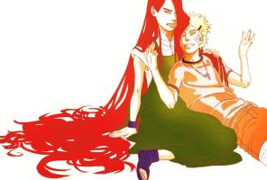 Mom's Red Hair 2 by Iro-the-Random-one