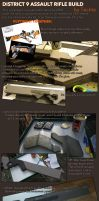 Assault Rifle Prop Replica Pt 2 by Techta