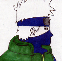 Kakashi  Looking by tabby25