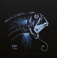 Deep water fish by ficus