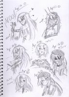Doodles of Raira by IkuRyo