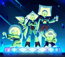 Steven Universe: Peridot and the Peridots! by dou-hong