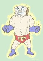 Powdered Toast man by Hartter