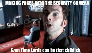 Childish Time Lord by DavidTennantFangirl