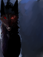 Jester, The First Hellhound by NightyLightness
