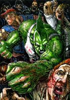 Savage Dragon ATC by DKuang