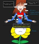 [UNDERTALE SPOILERS] :No happy ending without you: by CrystalChell
