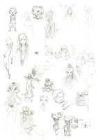 Truckload of Sketch dump 04 by Leifa