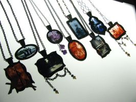 35mm Slides Necklaces by AbandonedMemory