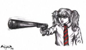 Hit Girl From Kick Ass Film by ALart90