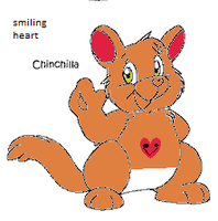 Smiling Heart  Chinchilla by deadf1