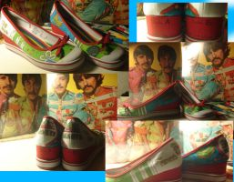 Sgt. Pepper Shoes by beccaecka