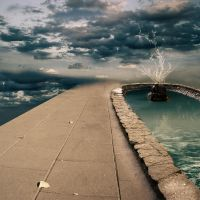 Background - Sky fountain 4 by ShiStock