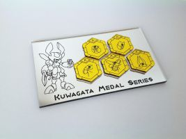 Kuwagata Medabot Medal Series 1 by ChinookCrafts