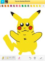 Draw Something: Pikachu by AskGriff