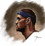 Lebron Warm-up by johnnyrocwell