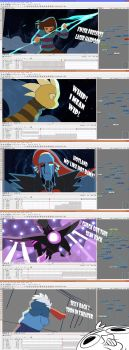 Undyne the Undying - WIPS by YAMsgarden