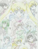 The Sailor Scouts by Trish87