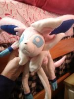 Sylveon Plush by Vulpes-Canis