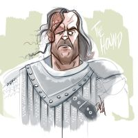 Game of Thrones - The Hound by DavidONeillArt