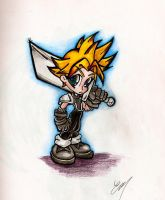 Cloud revisited by TattooedMorrigan