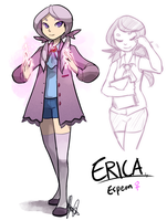 Pokemon OC: Erica by ky-nim