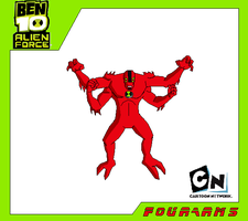 Fourarms-Ben 10 Alien Force by Bentenny10